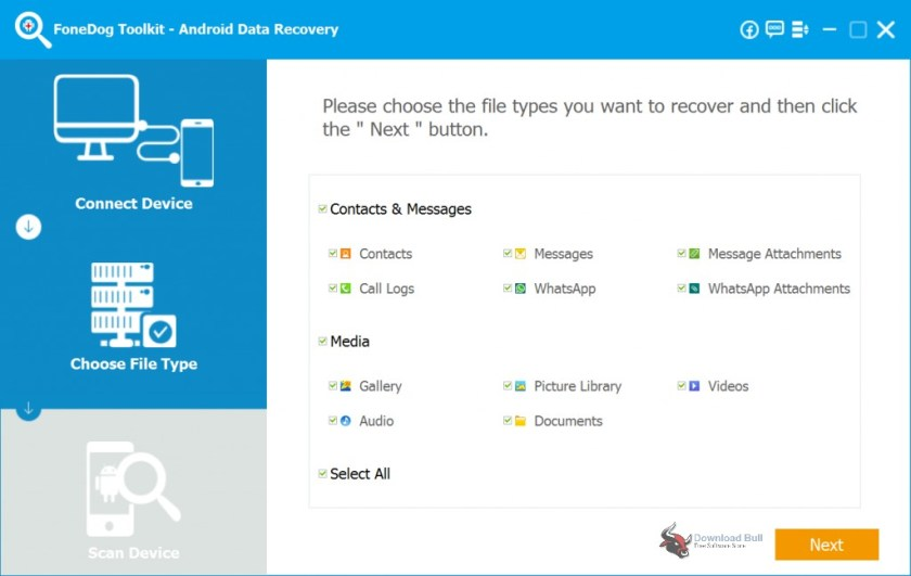 Portable FoneDog Toolkit Android Data Recovery Free Download