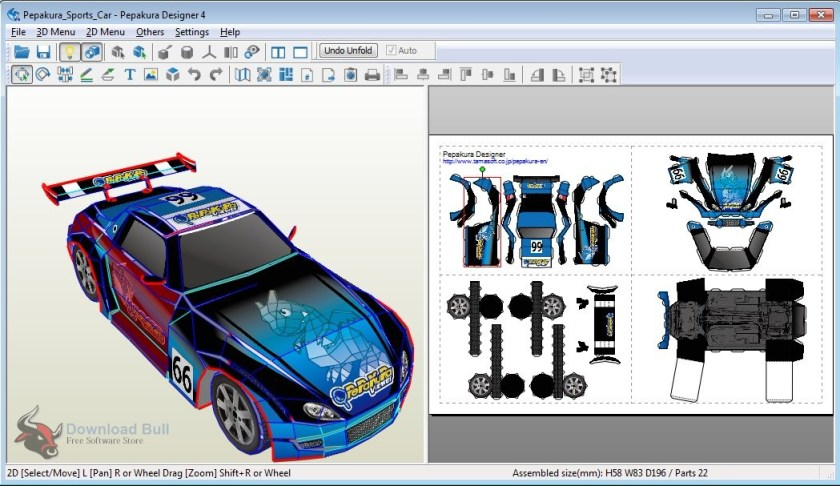 Download Portable Pepakura Designer 4.0