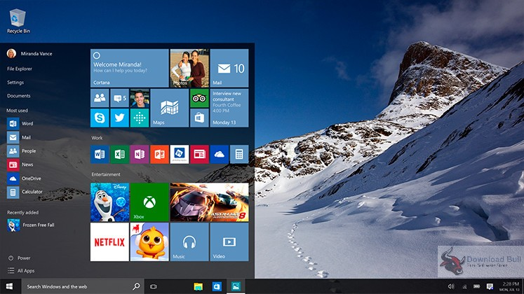 Windows 10 Pro RS2 with Office 2016 Free Download