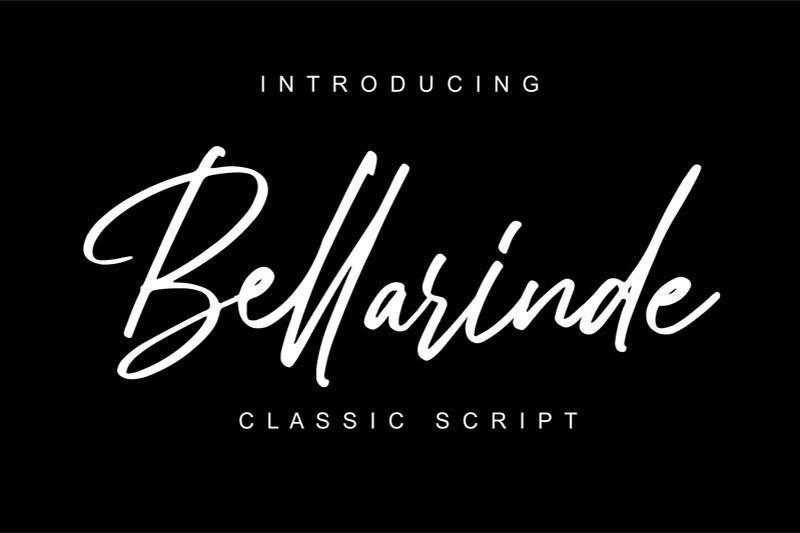 bellarinde-font