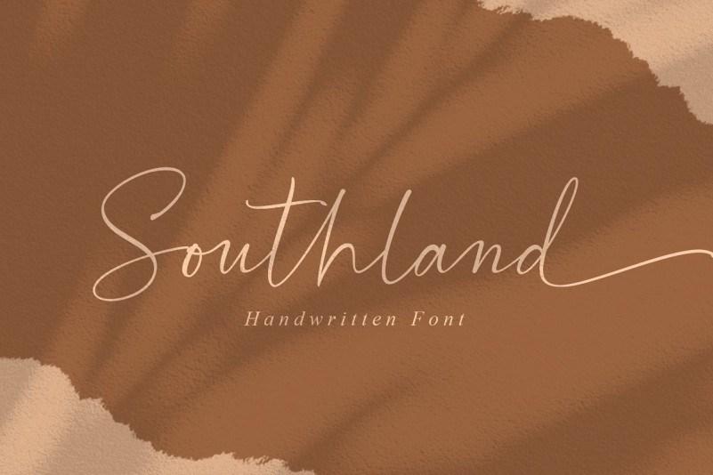 southland-font