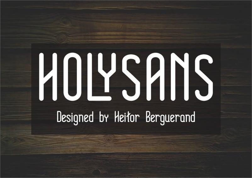 Holy-Sans-Serif-Font