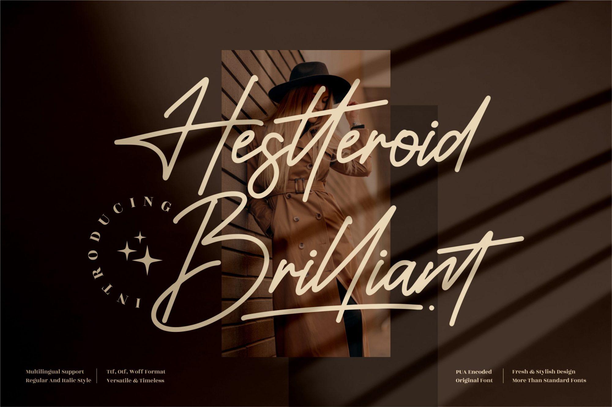Hestteroid-Brilliant-Font
