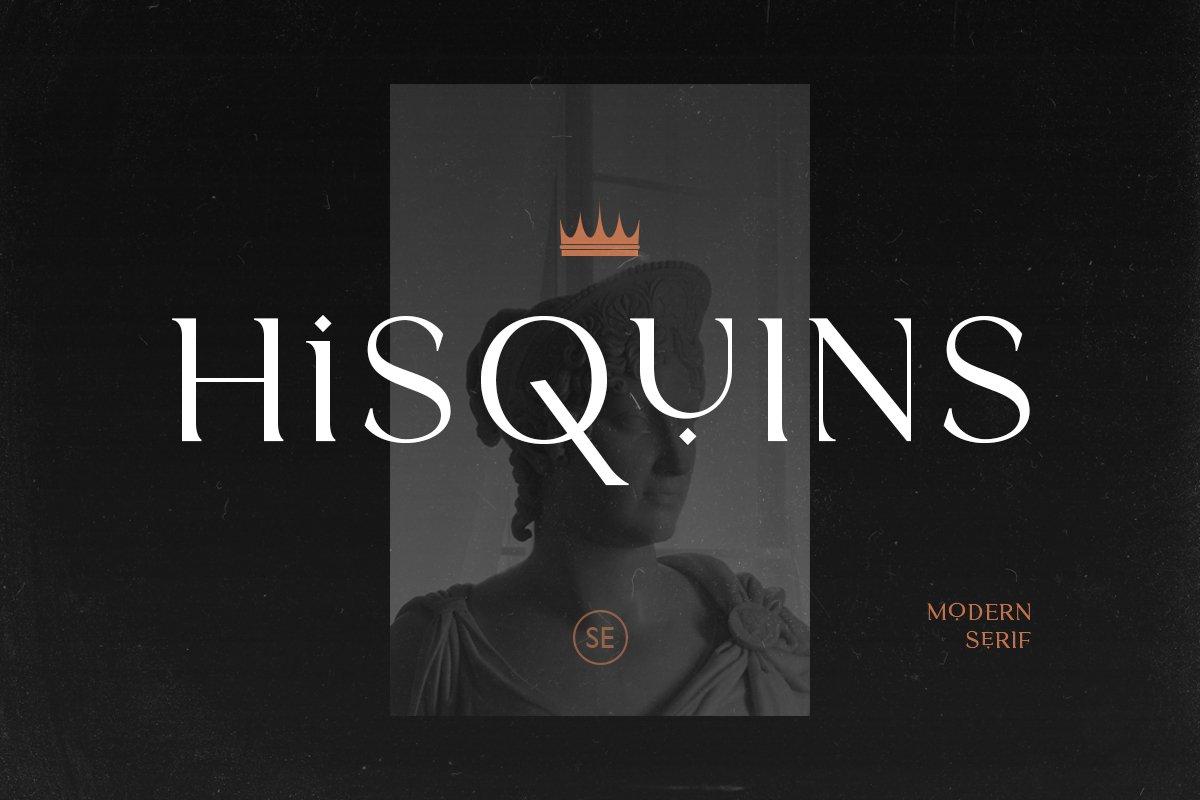 Hisquins-Font