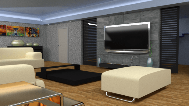 Blender 3d Interior Design