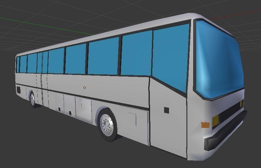 Bus 3D Models Free Download