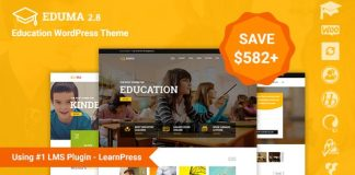 Education WordPress Theme | Education WP v2.8.5 Nulled Free