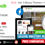 REHub v6.8.4 – Price Comparison, Business Community, Multi Vendor, Directory Theme Nulled Free