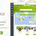 Woffice v2.3.4 – Intranet/Extranet WordPress Theme Nulled Free