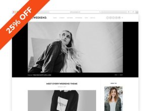 Every Weekend v1.0 - A Blog & Shop Theme CreativeMarket 1257652 Free