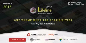 Lifeline v4.8.2 - NGO Charity Fund Raising WordPress Theme