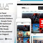 MagZilla v1.5.6 – Newspapers, Magazines & Blogs WordPress Theme Nulled Free