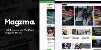 Magzma v1.0 - Powerful WordPress Magazine CreativeMarket 1270835