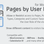 Pages by User Role for WordPress v1.3.4.76510 Nulled Free