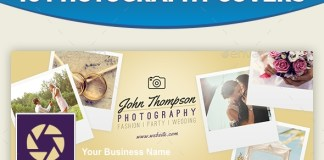 Photography Facebook Cover GraphicRiver 16383017