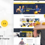 Renovation v2.0.2 – Home Maintenance, Repair Service Theme Nulled Free
