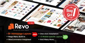 Revo v1.5.2 - Multi-Purpose Responsive WooCommerce Theme with Mobile-Specific Layouts