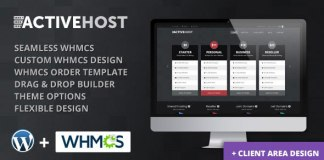Active Host v2.0.1 – WordPress + WHMCS Hosting Nulled Free