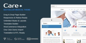 Care v4.5.3 - Medical and Health Blogging WordPress Theme Nulled Free