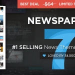 Newspaper v7.7.1 – WordPress News Theme Nulled Free