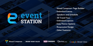 Event Station v1.1.7 – Event & Conference WordPress Theme