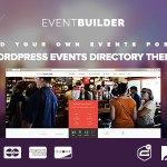 EventBuilder v1.1.0 – WordPress Events Directory Theme Nulled Free