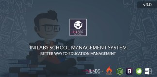 Inilabs v3.0 - School Management System Express Nulled Free