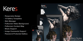 Keres v2.6 Fullscreen Photography Theme | Themeforest