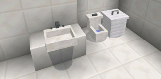 MINECRAFT PE MOD: Pocket Furniture Mod