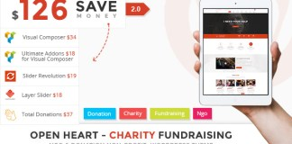 OpenHeart v2.0 - Charity WordPress Theme