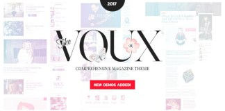 The Voux v3.1.1 - A Comprehensive Magazine Theme | Themeforest