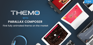 Themo v1.3.6 - Creative Parallax Multi-purpose WordPress Theme Nulled