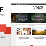 Voice v2.3 – Clean News/Magazine WordPress Theme Nulled Free