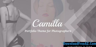 Camilla v2.2.2 – Horizontal Fullscreen Photography Theme | Themeforest