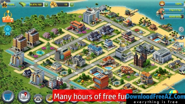 City Island 3 - Building Sim v1.8.7 APK MOD Hacked unlimited money Android