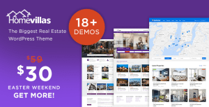 Home Villas v1.5 – Real Estate WordPress Theme