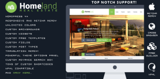 Homeland v3.1.3 - Responsive Real Estate WordPress Theme | Themeforest