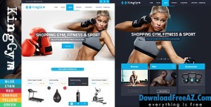 Kinggym – Fitness, Gym and Sport Opencart theme