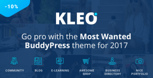 KLEO v4.2.2 - Pro Community Focused, Multi-Purpose BuddyPress Theme