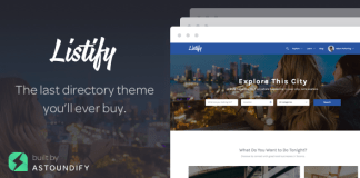 Listify v1.12.0 - WordPress Directory & Listings Theme