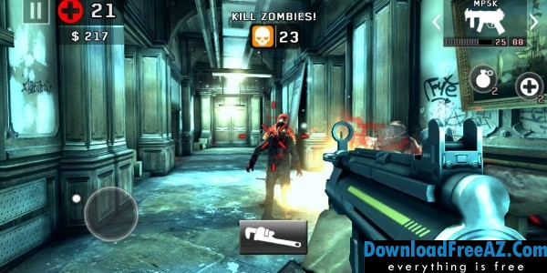Dead trigger 2 zombie shooter v131 apk mod ammodamage download dead trigger 2 malvernweather Choice Image
