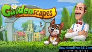 Gardenscapes - New Acres v1.6.4 APK MOD