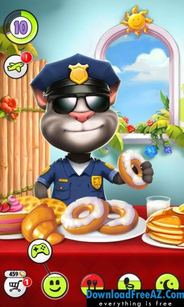 My Talking Tom v4.4.1.28 APK MOD (Unlimited Coins) Android Free