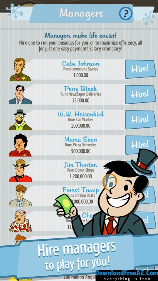 AdVenture Capitalist APK v5.4 MOD (Unlimited Gold) Android Free