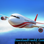 Download Free Flight Pilot Simulator version 2.3 3D APK + MOD (Unlimited Money)