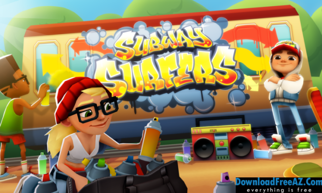 Download Free Subway Surfers v1.96.1 APK + MOD (Unlimited Coins/Key) for Android