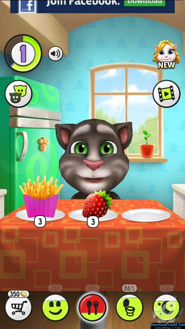 Download Free My Talking Tom 2 v1.0.1337.1843 APK + MOD (Unlimited Money) for Android