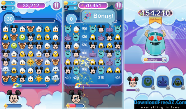 Download Free Disney Emoji Blitz – Villains + Мod (Free Shopping) for Android