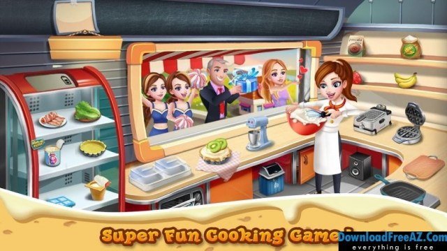 Download Free Rising Super Chef 2 + (Mod Money) for Android