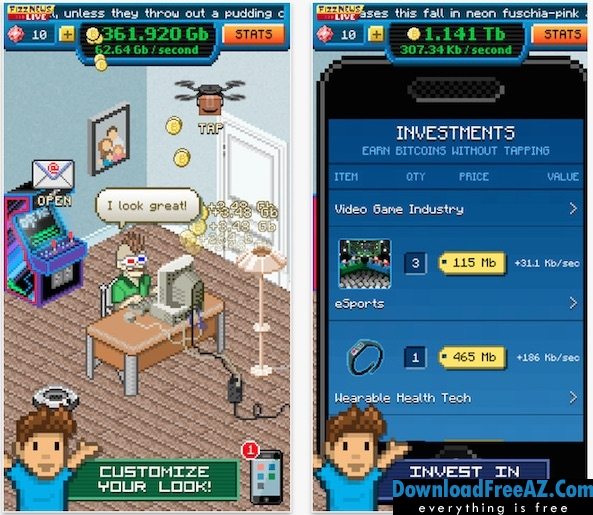 Download Free Bitcoin Billionaire + (Mod Money) for Android